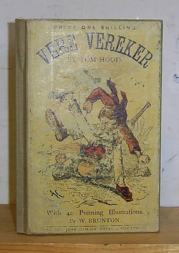 Image for Vere Vereker's Vengeance...with Punning Woodcuts by William Brunton (1865)