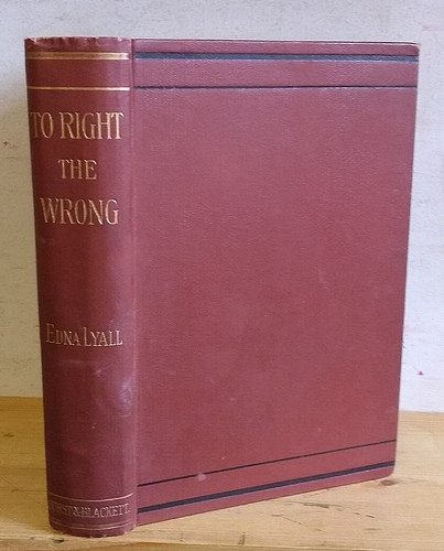Image for To Right the Wrong (1894)