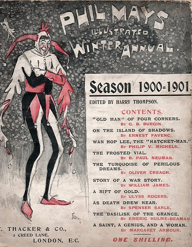Image for Phil May's Illustrated Annual, Winter 1900 - 1901