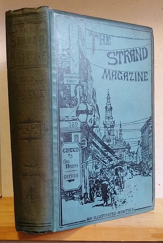Image for The Strand Magazine, Volume XXXII (32), July - December 1906