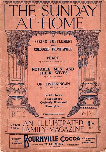 Image for The Sunday at Home, Single Issue, March 1924.